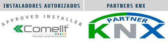Instalacores autorizados Comelit y partners KNX
