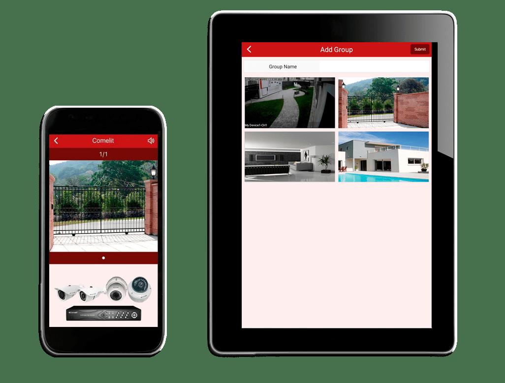 app vidovigilancia smartphone y tablet