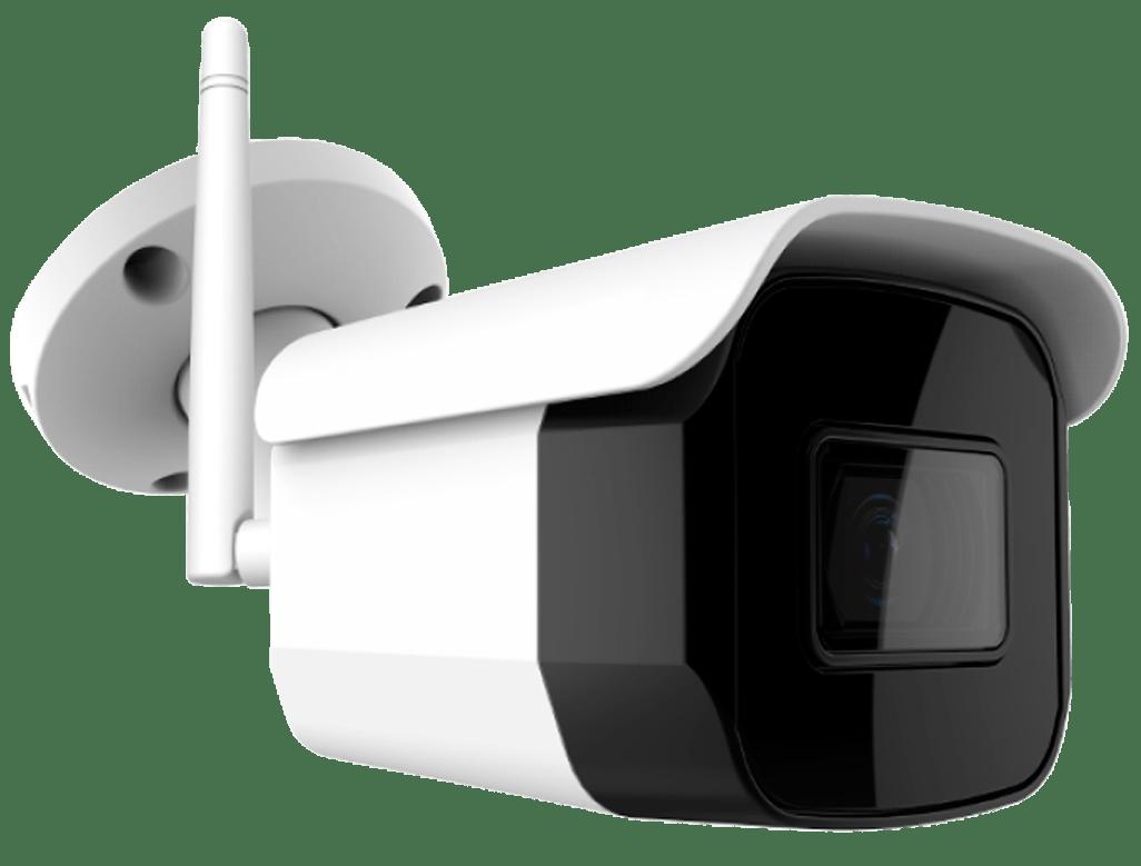 Cámara IP Wi-Fi bullet color Día y Noche, óptica fija de 3.6 mm