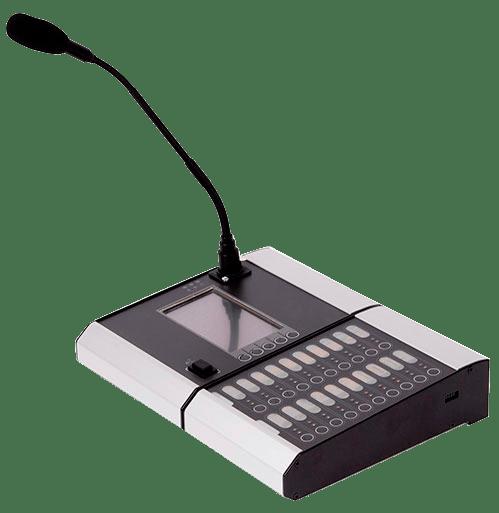 Micrófono de sistemas de evacuación por NRC
