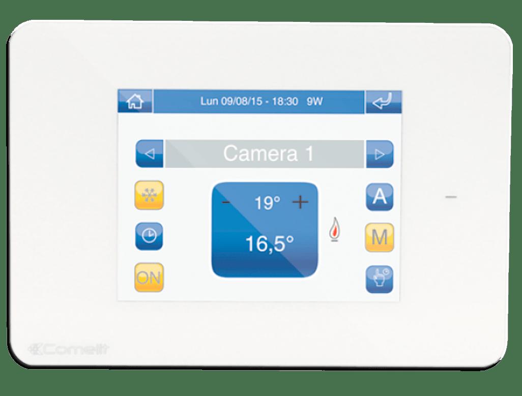 Mini Touch de 3,5'' con función cronotermostato