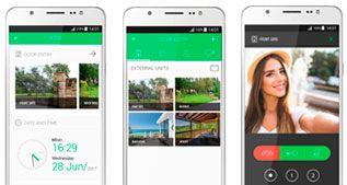 pantallas app videoporteros Comelit