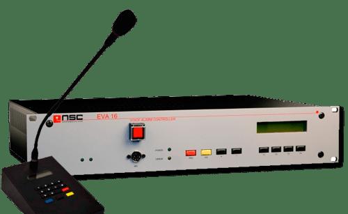 sistema megafonía NSC